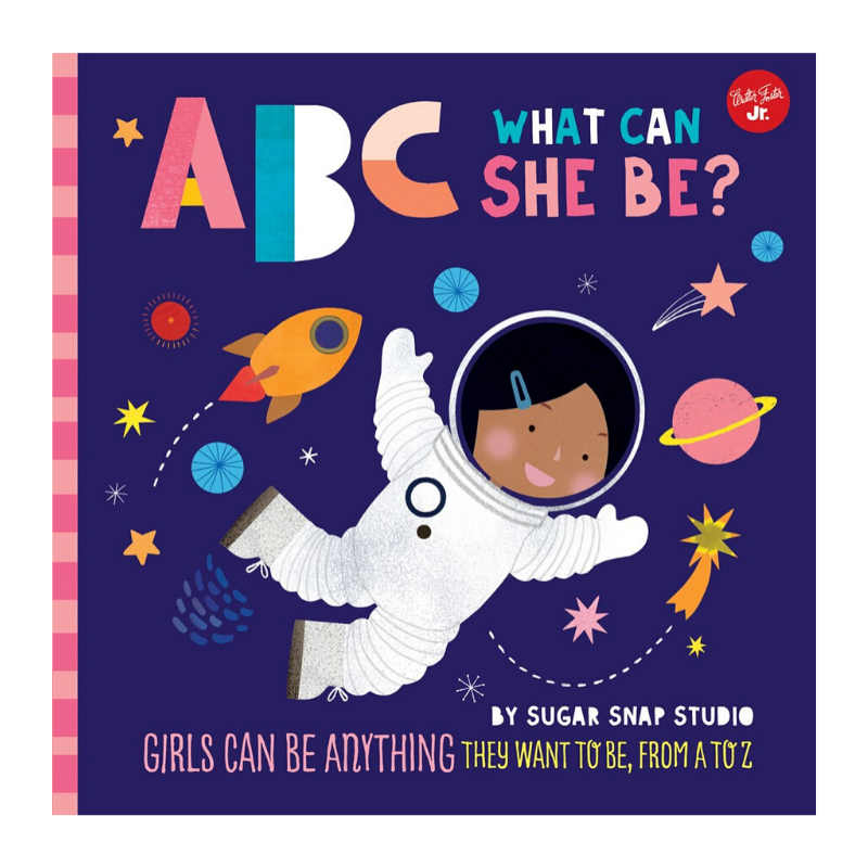ABC What Can She Be?  Board Book