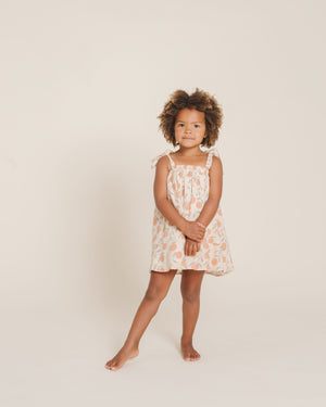 Rylee and Cru Peaches Shoulder Tie Dress