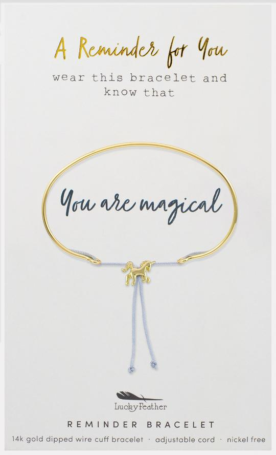 You Are Magical Adjustable Bracelet