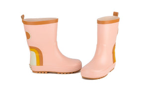 Children's Rubber Boots-Rainbow-Shell
