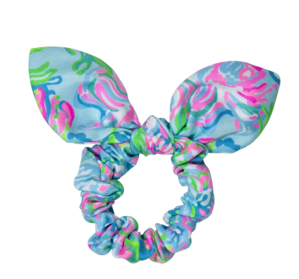 Lilly Pulitzer  Tie Hair Scrunchie