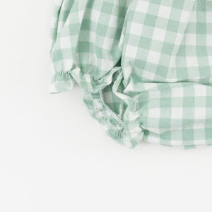 Thimble Flutter Bloomer Pond Gingham