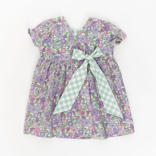 Thimble Wrap Dress Wisteria