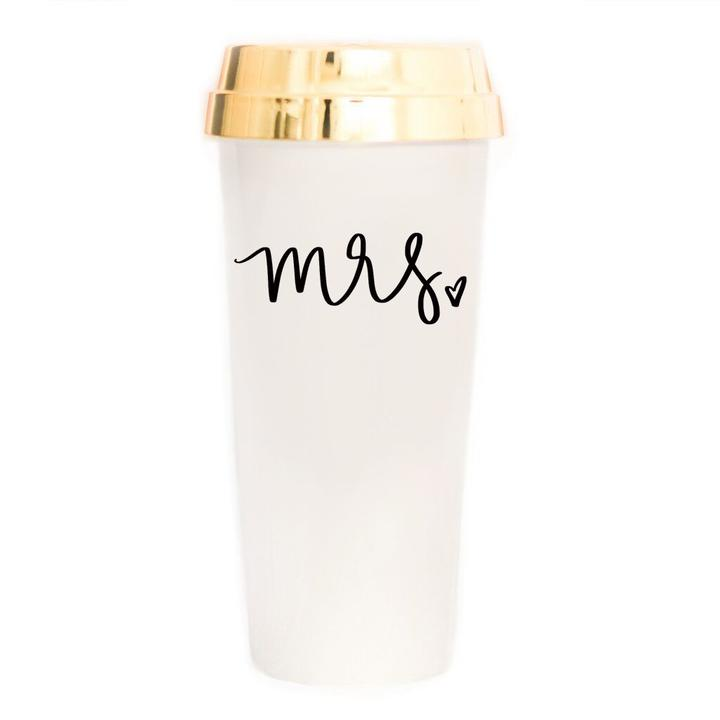 Sweet Water Decor Mrs. Gold Travel Mug