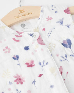 Little Unicorn Cotton Muslin Sleep Sack-Fairy Garden