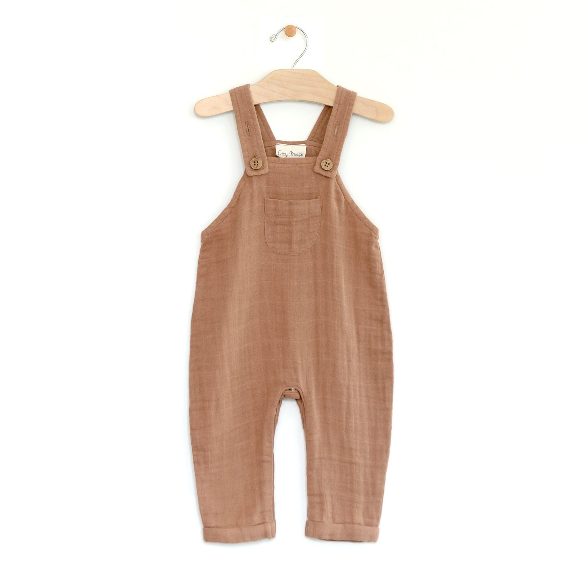City Mouse Muslin Overall