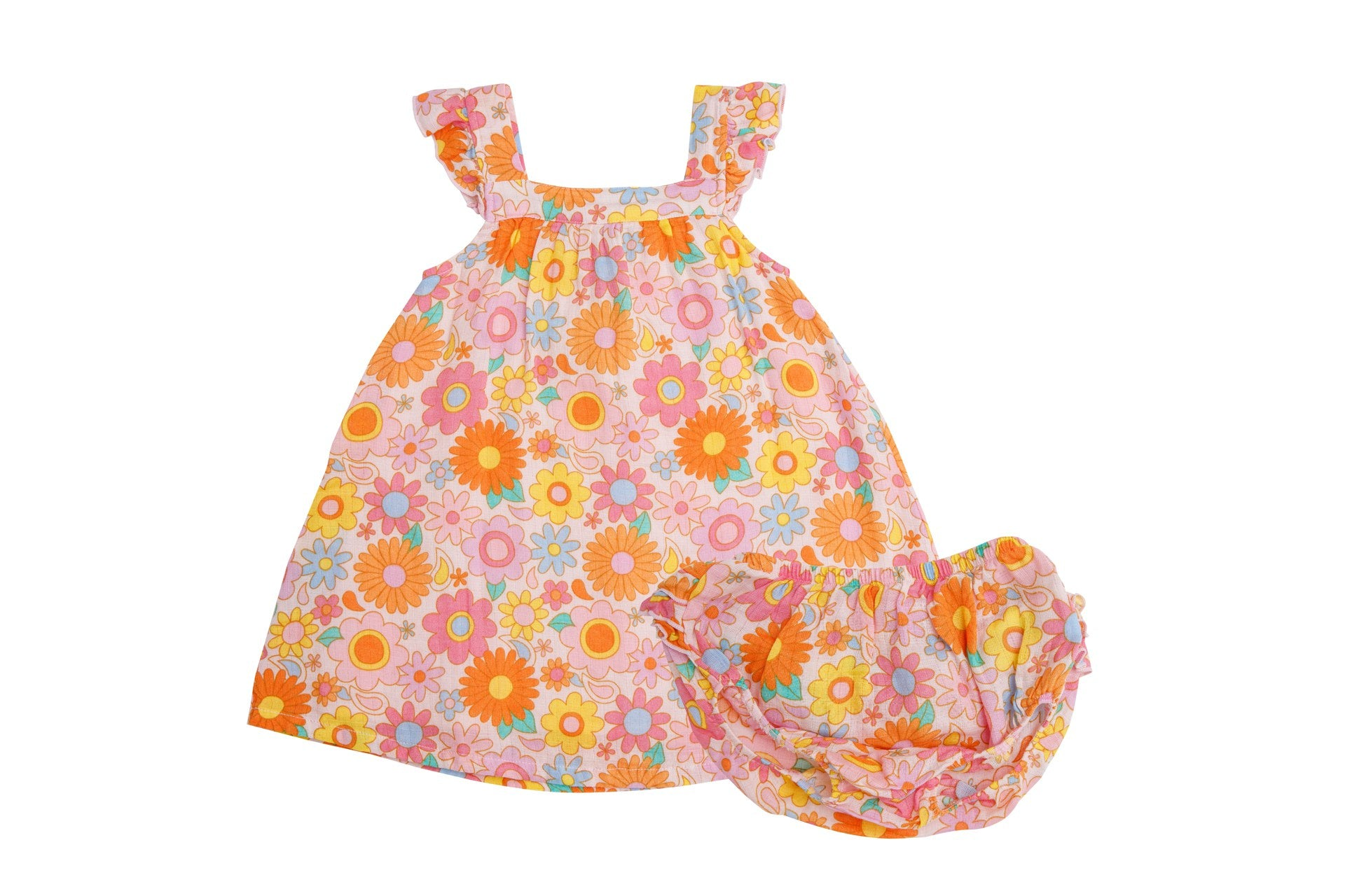 Retro Daisy Sundress