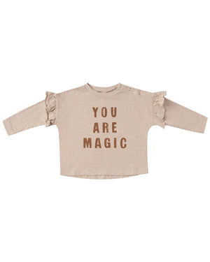 Rylee and Cru You are Magic Ruffle Tee
