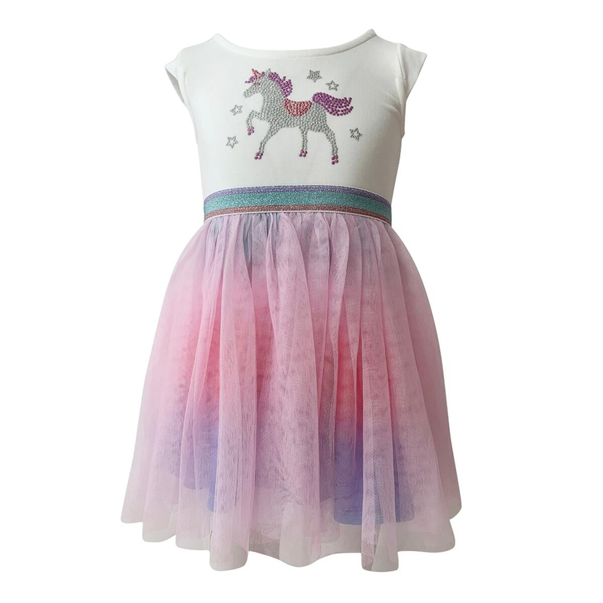 Crystal Unicorn Tutu Dress