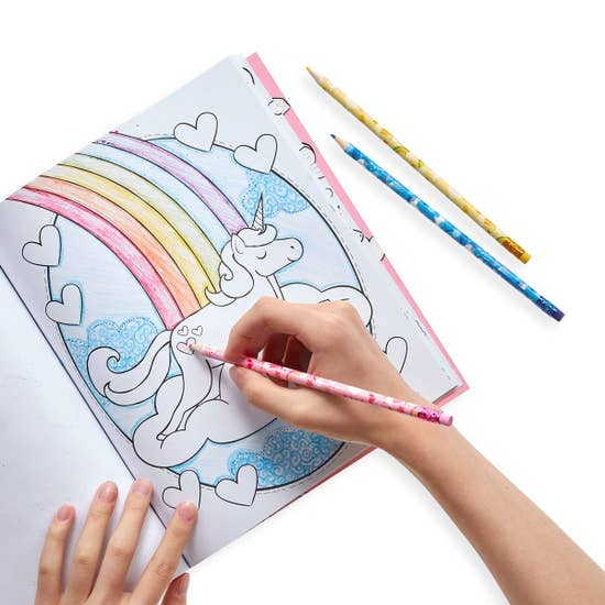 Ooly Unique Unicorn Erasable Colored Pencils Set of 12