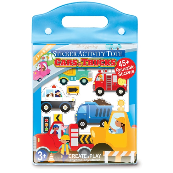 Sticker Activity Tote