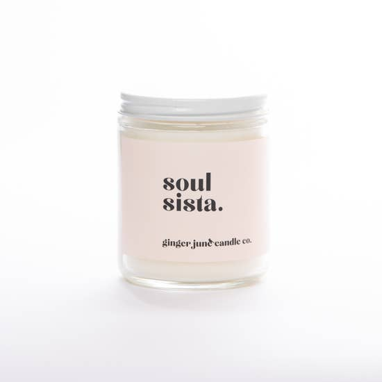 Ginger June Candle-Soul Sista-Apricot Fig