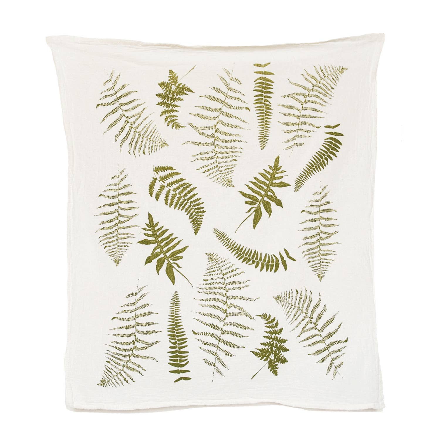 June & December Fronds Tea Towel
