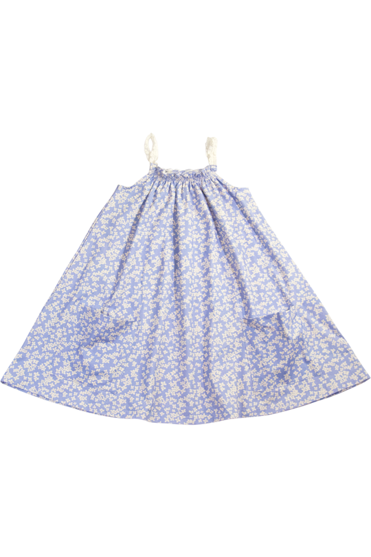 Charming Mary Poppy's Pocket Dress Cornflowers