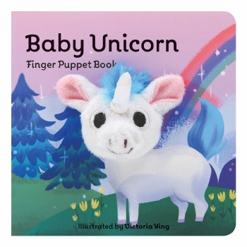 Baby Unicorn Finger Puppet Book
