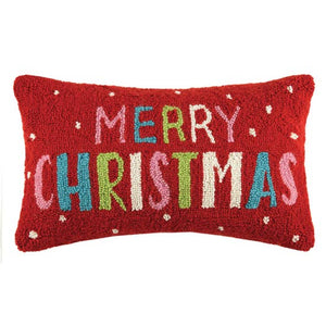 Peking Merry Christmas Hook Pillow