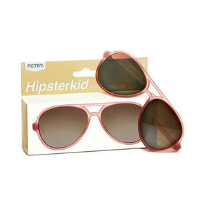 Hipster Kid Aviator Sunglasses Rose'