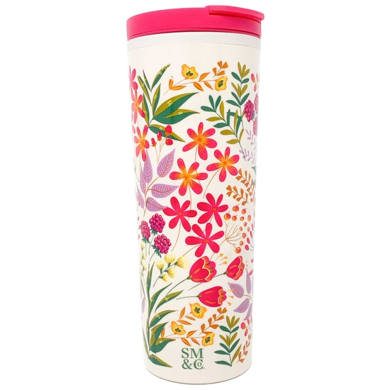 Wildflower Thermal Mug 16oz