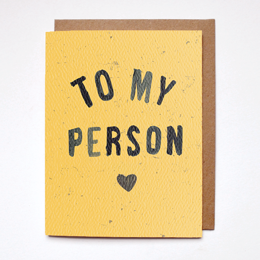 Daydream To My Person Card