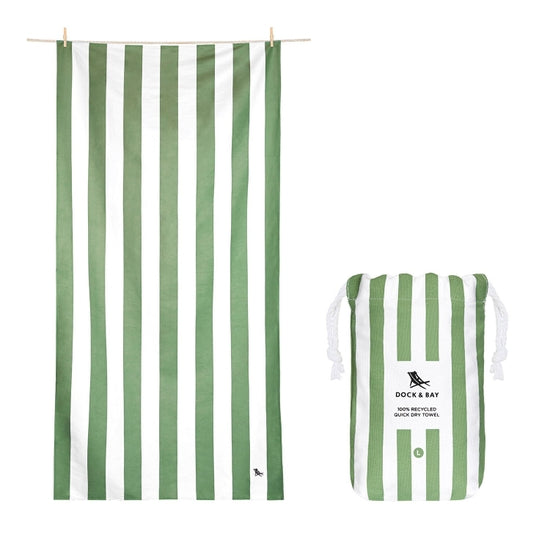 Dock and Bay Towel-Extra Large