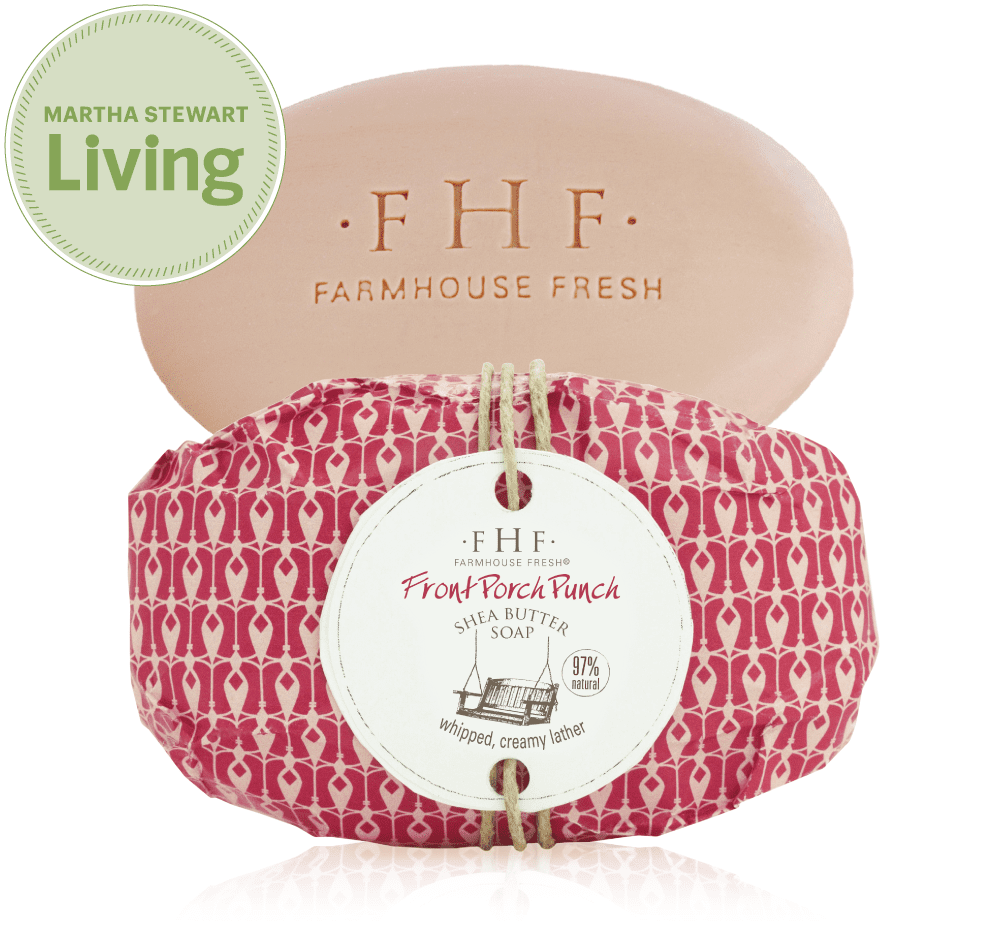 Farmhouse Fresh Shea Butter Wrapped Soap 5.25oz.