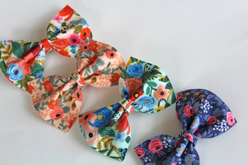 Love Steffie Rifle Paper Liza Bow Hair Clip