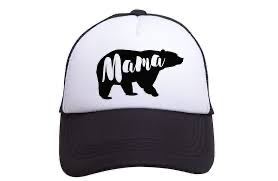 Tiny Trucker Mama Bear Hat