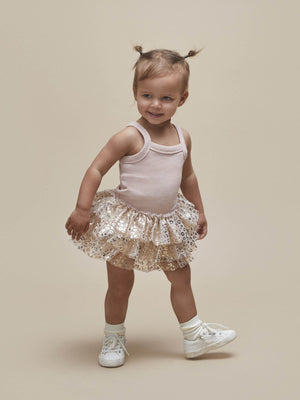 Huxbaby Gold Animal Ballet Dress