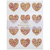 Meri Meri Heart Glitter Stickers