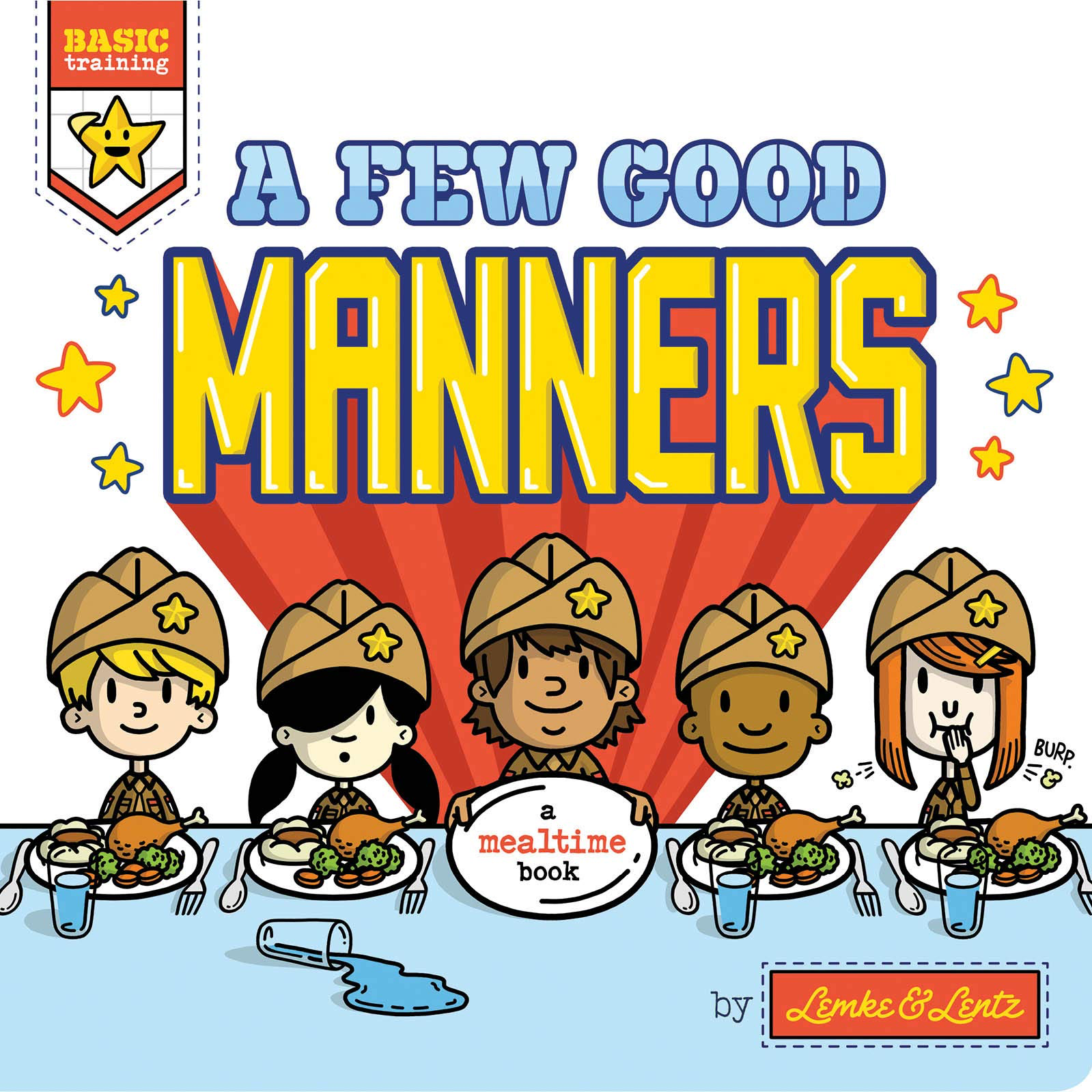 A Few Good Manners Board Book