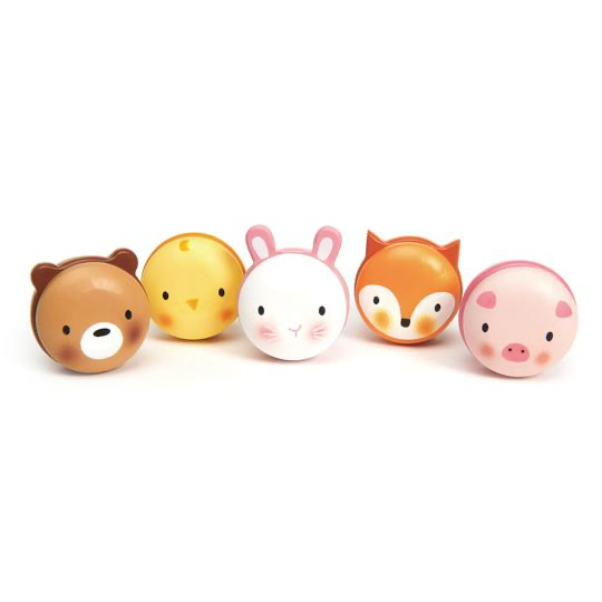Tenderleaf Toys Animal Macarons