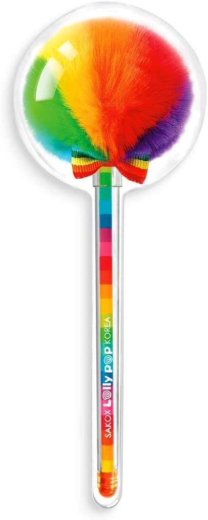 Lollypop scented pen multicolored