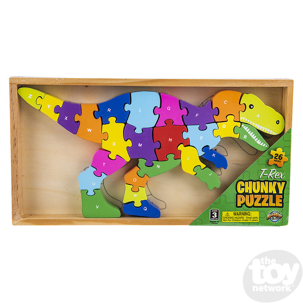 Toy Network T Rex Puzzle