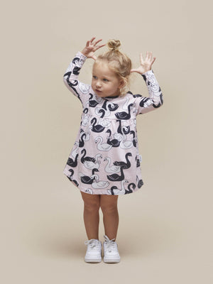 Huxbaby Swan Lake Long Sleeve Dress