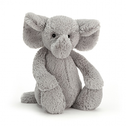 Jellycat Bashful Grey Elephant-Medium