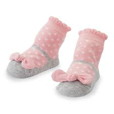 Mudpie Polka dot Socks
