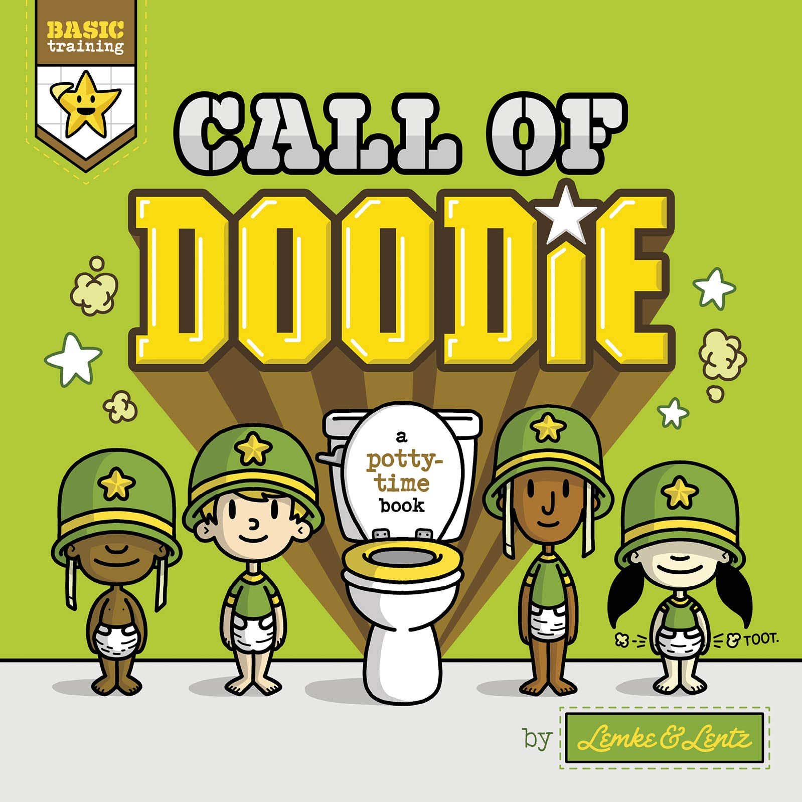 Call of Doodie Board Book