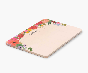 Rifle Paper Garden Party Weekly Desk Pad