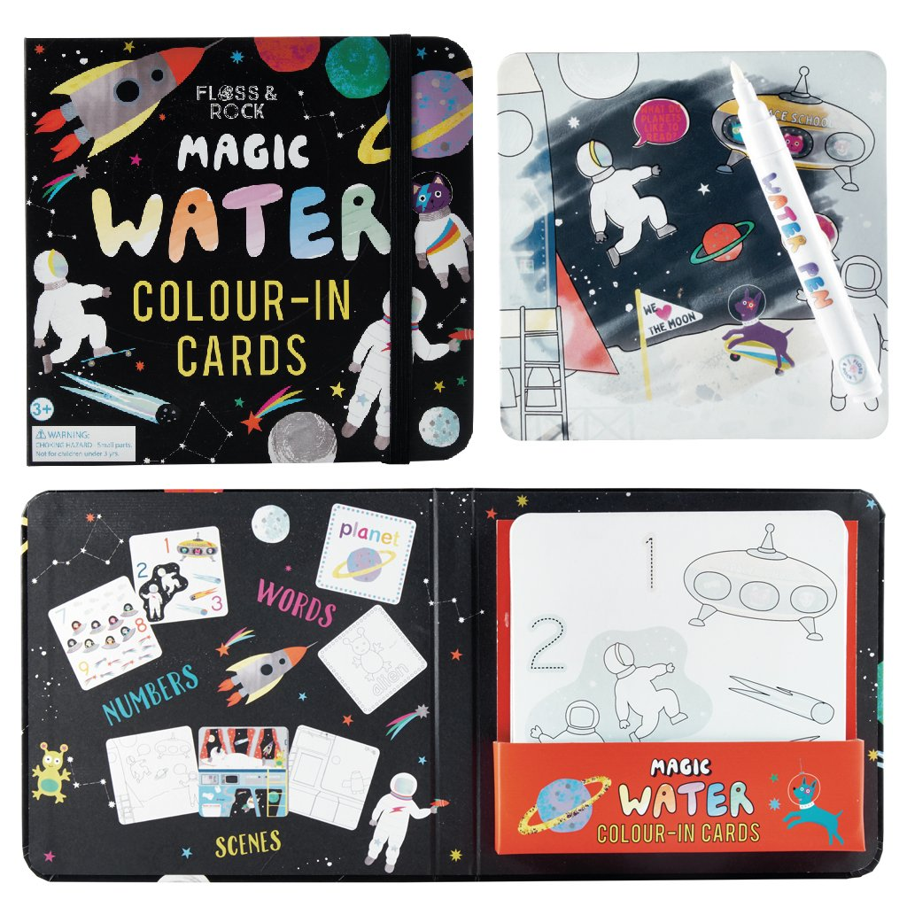 Floss and Rock Space Water Pen and Cards