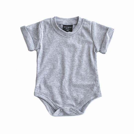 Little Bipsy Basic Onepiece Grey