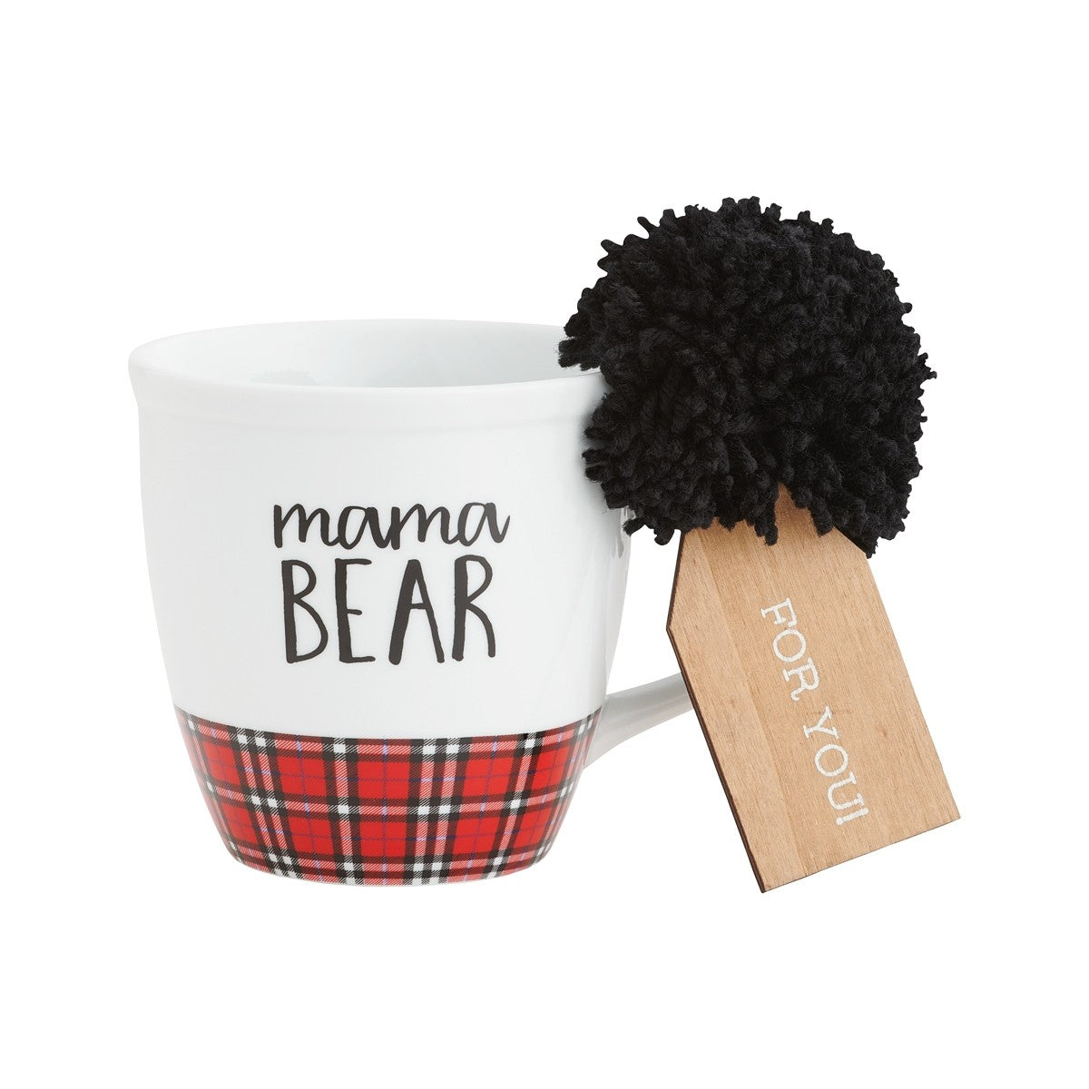 Mama Bear Plaid Mug