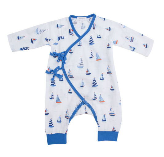 Nautical Boats Wrap Coverall