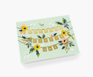 Rifle Paper Welcome Garland Card
