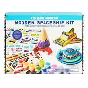 Kid Made Modern Wooden Spaceship Kit