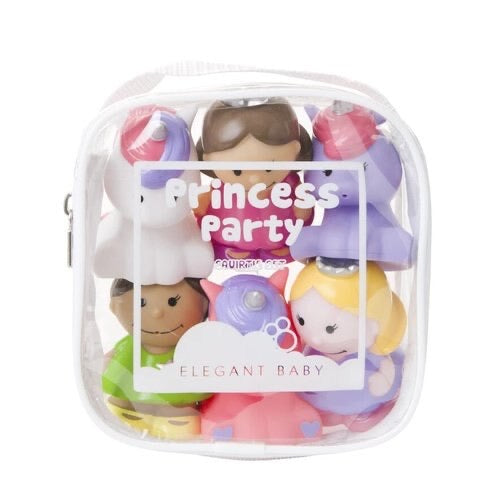 Elegant Baby Princess Party Bath Toys
