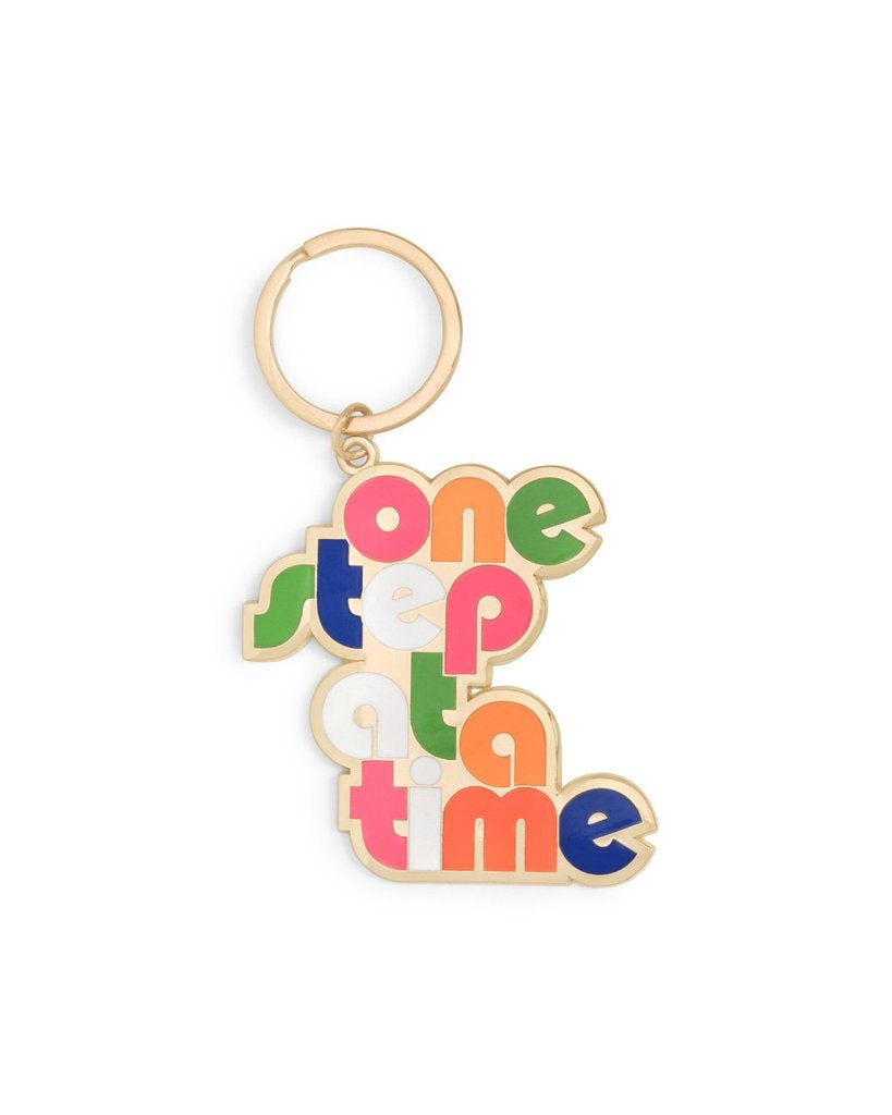 Bando One Step at a Time Keychain
