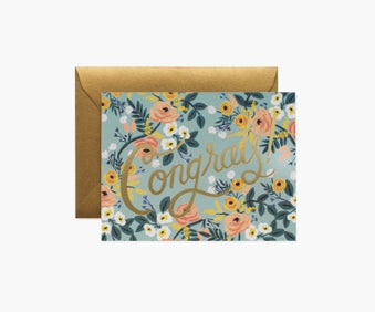 Rifle Blue Meadow Congrats Card