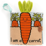 Jellycat Carrot Book