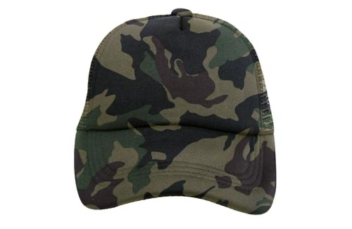 Tiny Trucker Camo Hat