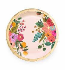 Rifle Paper Co. Large Garden Party Paper Plates